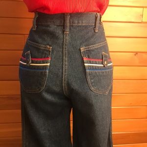 Vintage 70's *Rump* Straight Leg Jeans Size 27